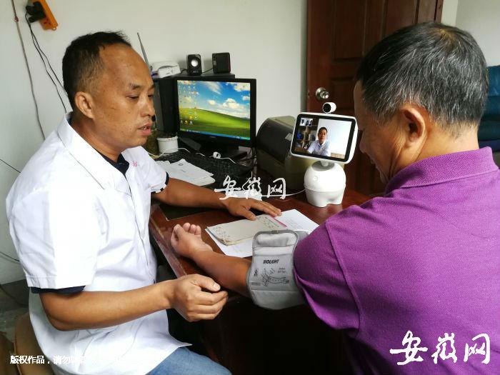 宣城:机器人医生走进百姓家 县域医疗水平不断提升