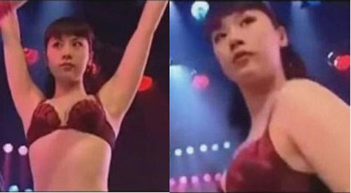 海清成名前艳舞照曝光 仅穿比基尼上阵资讯生活